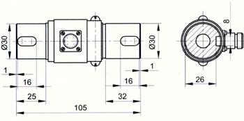 PTQ-2A静态扭矩传感器